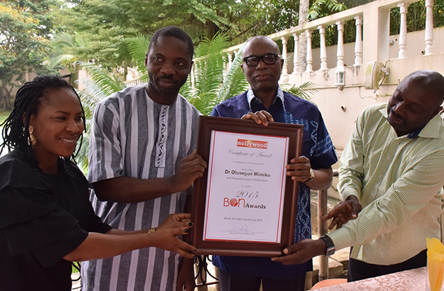 Ondo Hosts 2015 BON Awards